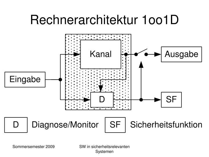 Rechnerarchitektur 1oo1D
