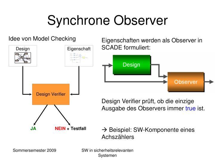 Synchrone Observer