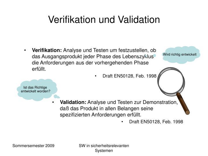 Verifikation: