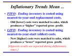 inflationary trends mean