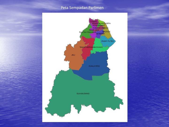 Peta Sempadan Parlimen