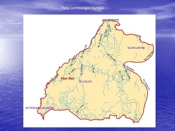 Peta Lembangan Sungai