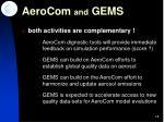 aerocom and gems2