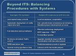 beyond its balancing procedures with systems