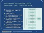 mainstreaming a management system no mystery sdots have done it before