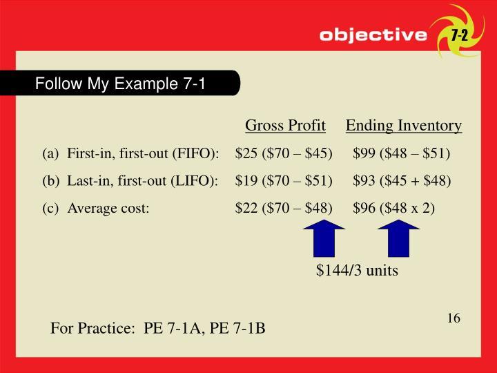 Follow My Example 7-1