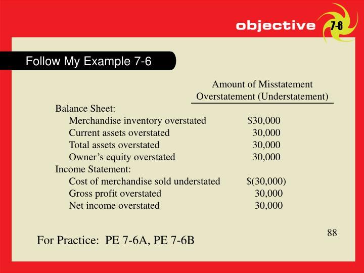 Follow My Example 7-6