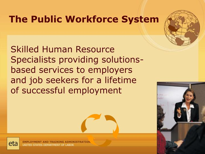 The Public Workforce System