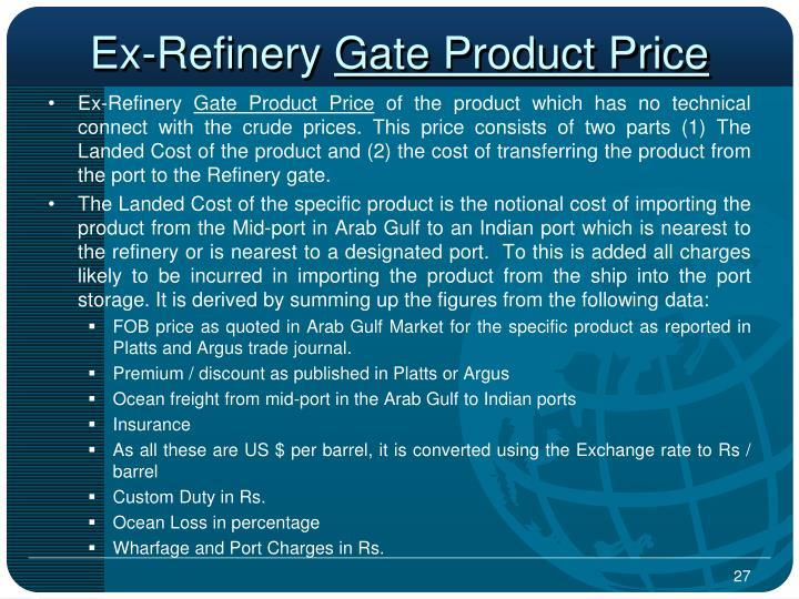 Ex-Refinery