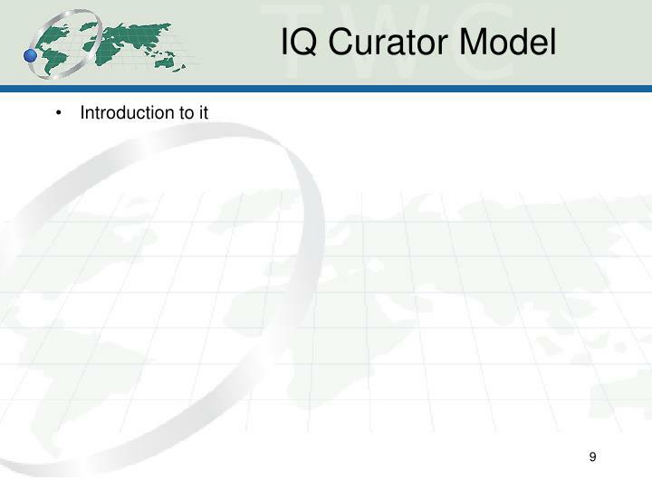 IQ Curator Model