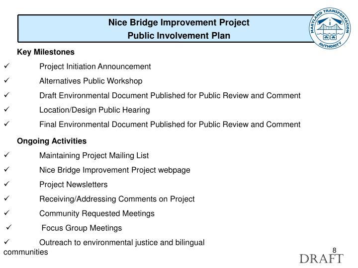 Nice Bridge Improvement Project
