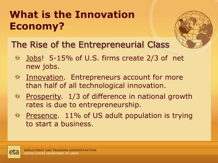What is the Innovation Economy?