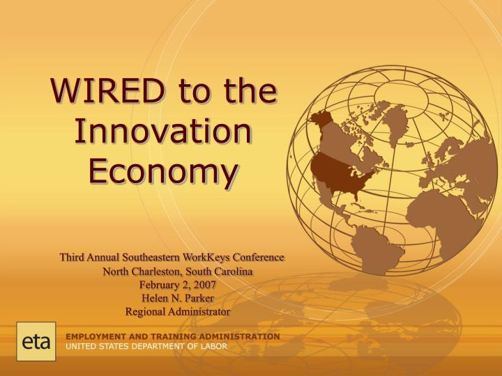 Wired to the innovation economy
