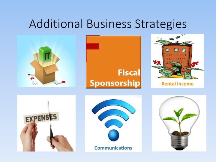 Additional Business Strategies