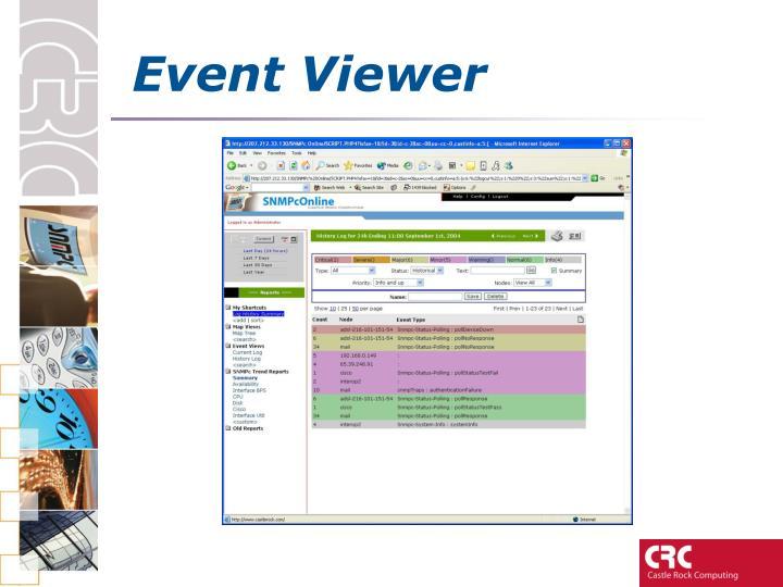 Event Viewer