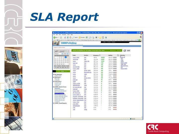 SLA Report