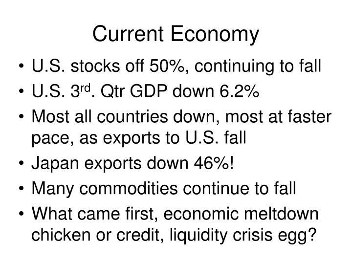 Current economy