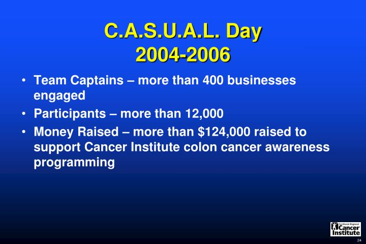 C.A.S.U.A.L. Day