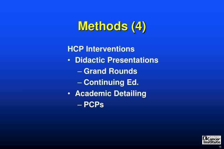 Methods (4)