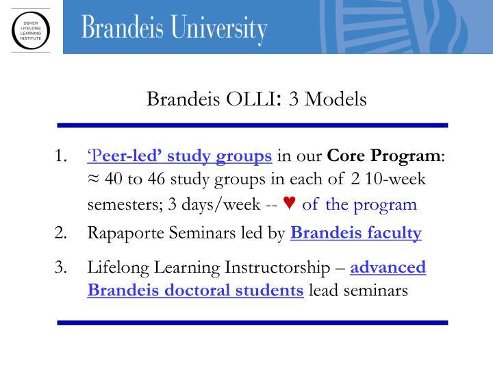 Brandeis OLLI