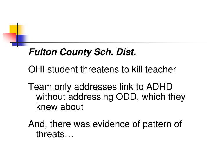 Fulton County Sch. Dist.