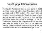 fourth population census