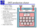 dst production cluster