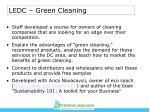 ledc green cleaning