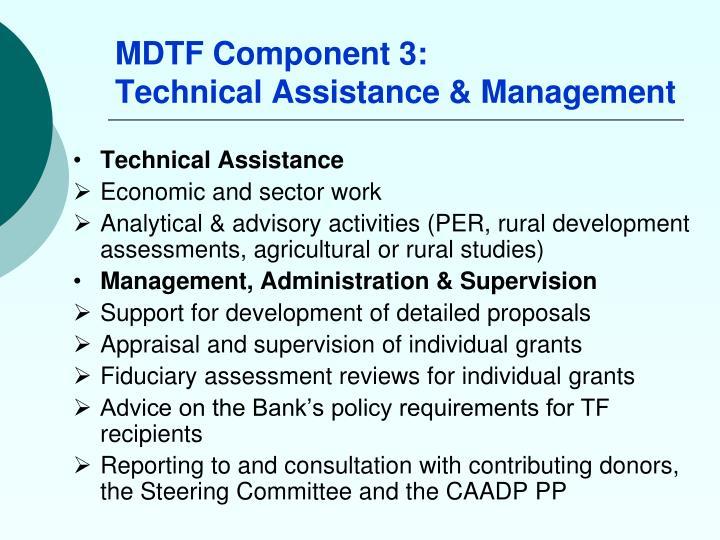 MDTF Component 3:
