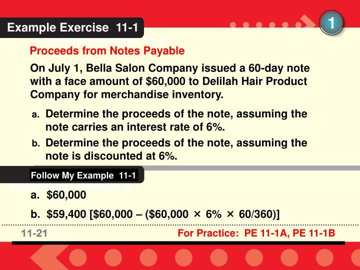 Follow My Example  11-1