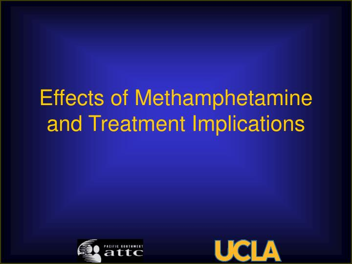 Effects of Methamphetamine and Treatment Implications