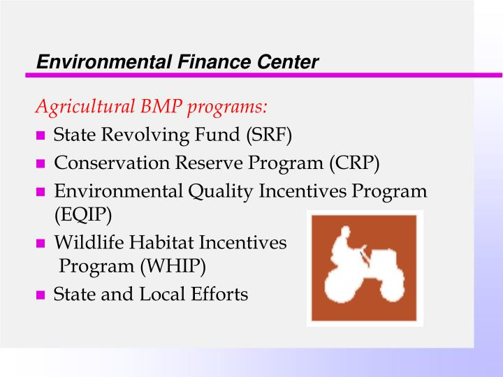 Environmental Finance Center