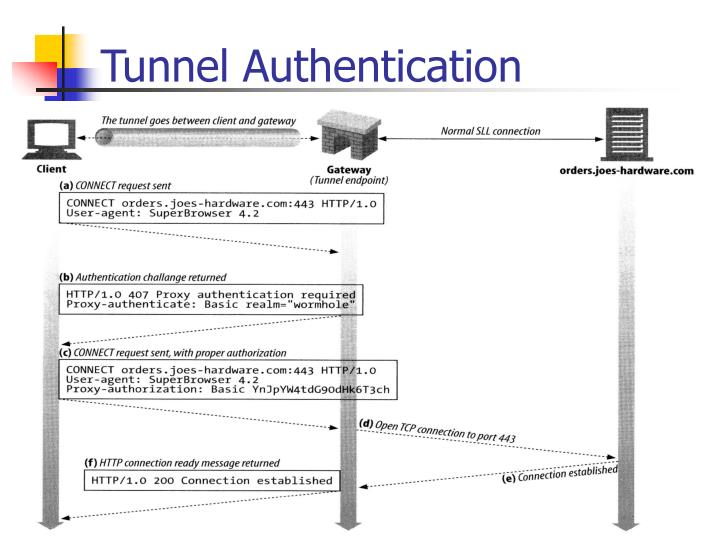 Tunnel Authentication