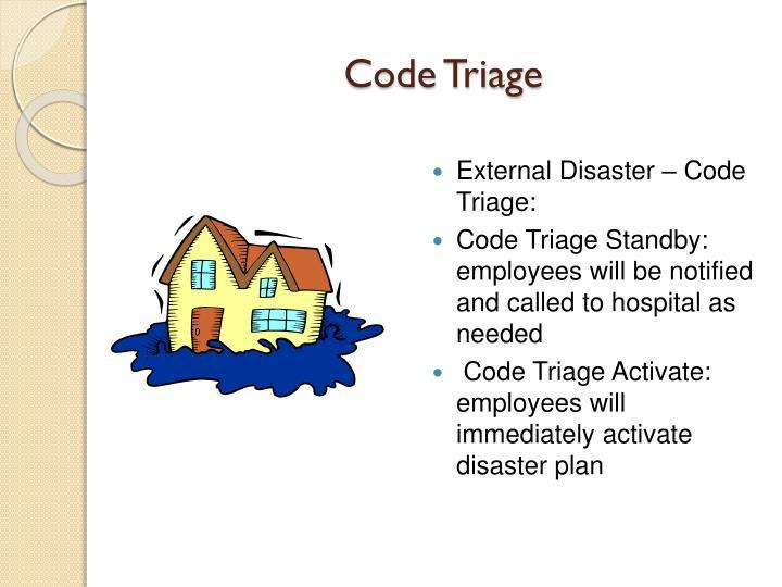 Code Triage
