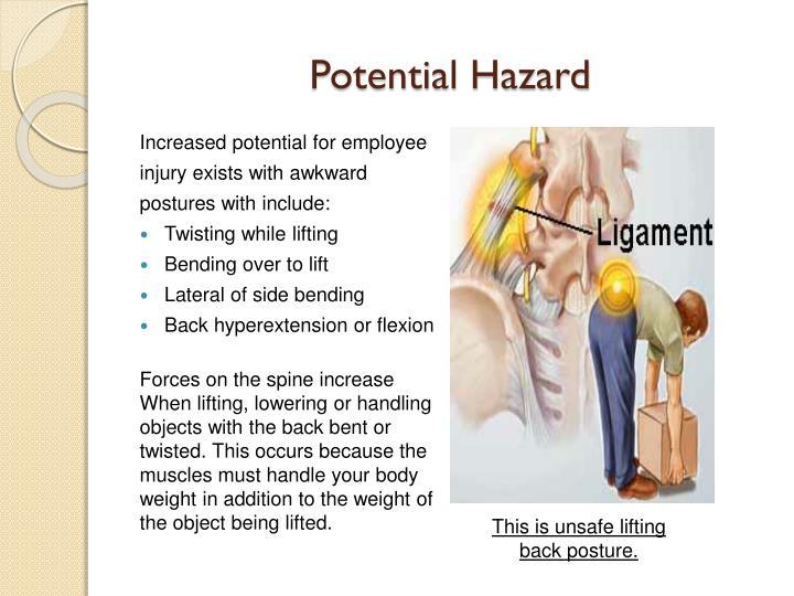 Potential Hazard