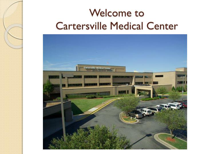 Welcome to cartersville medical center