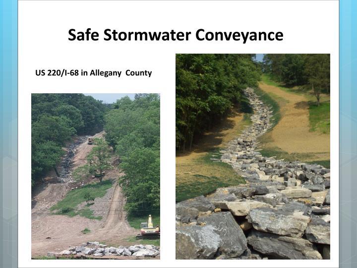 Safe Stormwater Conveyance