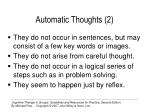 automatic thoughts 21
