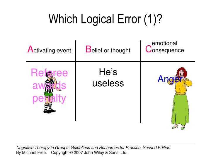 Which Logical Error (1)?