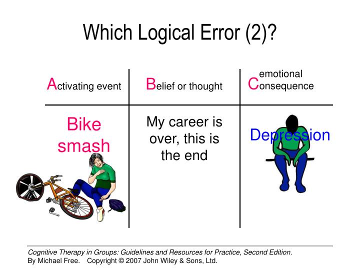 Which Logical Error (2)?