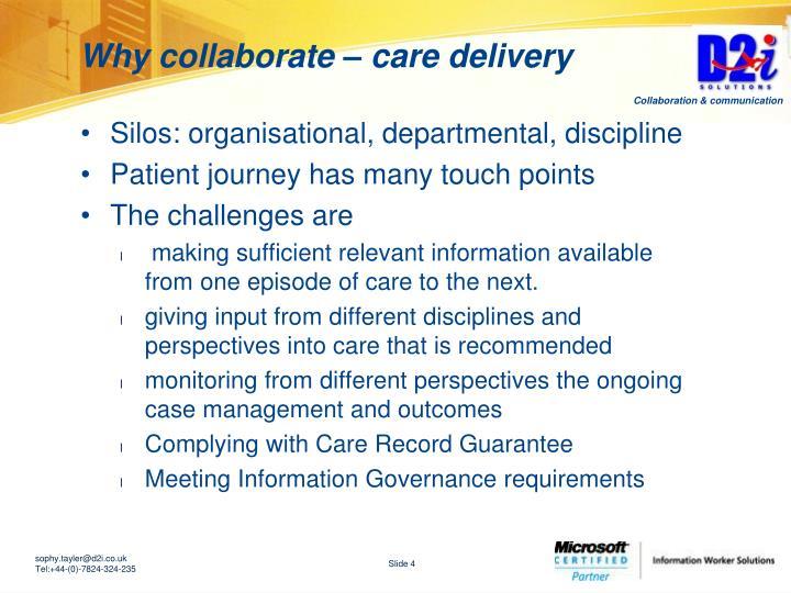 Silos: organisational, departmental, discipline