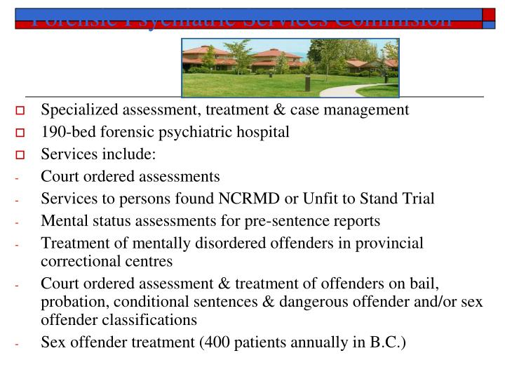 Forensic Psychiatric Services Commision