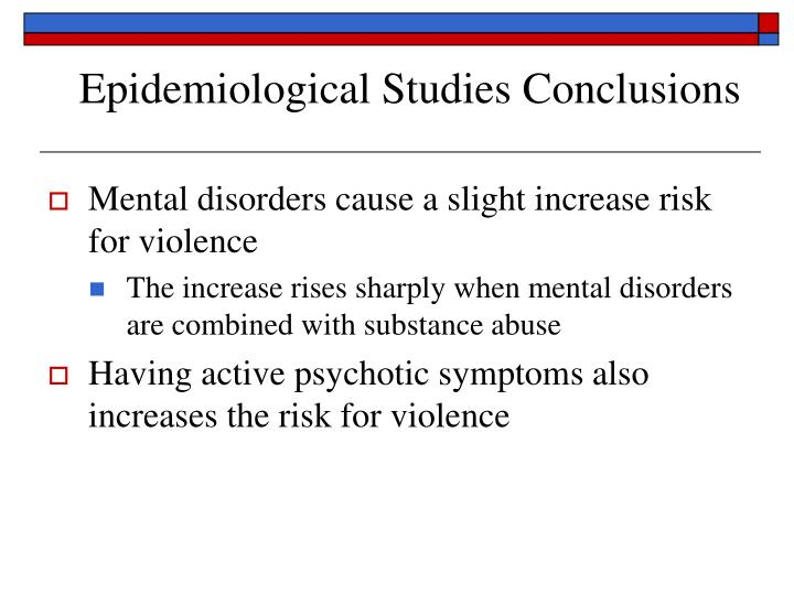 Epidemiological Studies Conclusions