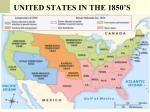 united states in the 1850 s
