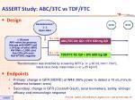 assert study abc 3tc vs tdf ftc