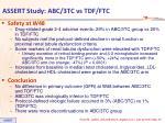 assert study abc 3tc vs tdf ftc3