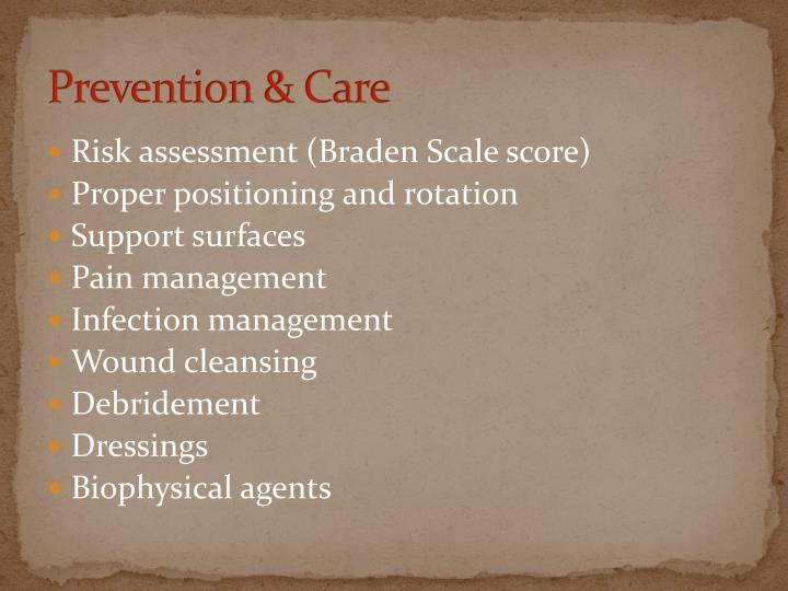 Prevention & Care