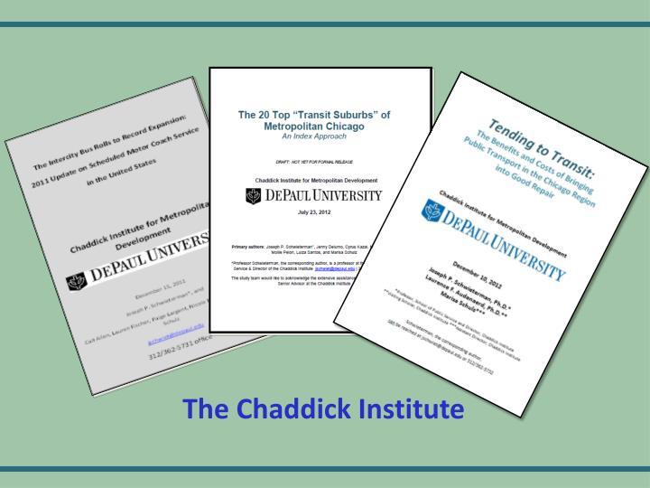 The Chaddick Institute