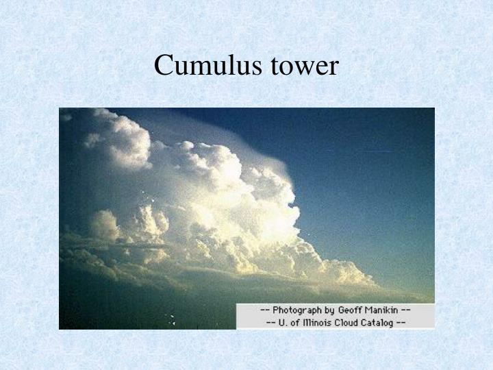 Cumulus tower