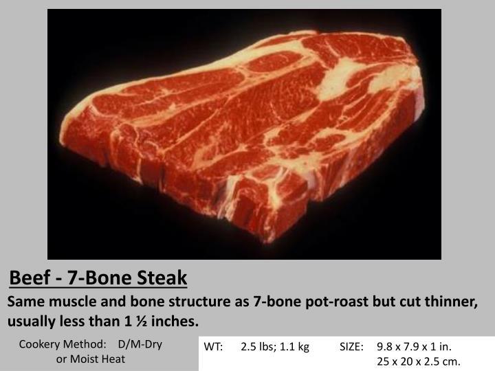 Beef - 7-Bone Steak